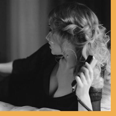 charla caliente por telefóno